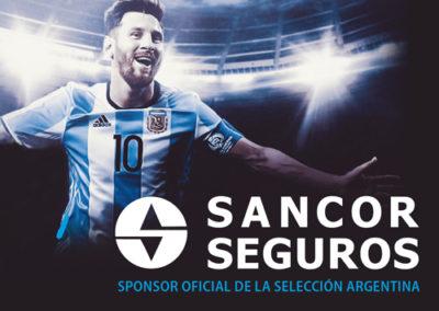 SANCOR SEGUROS Sponsor Oficial Rusia 2018.