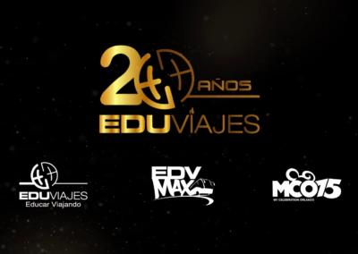 EDUVIAJES – 20 Años.